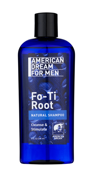 American Dream For MEN - Fo-Ti Root Natural Shampoo