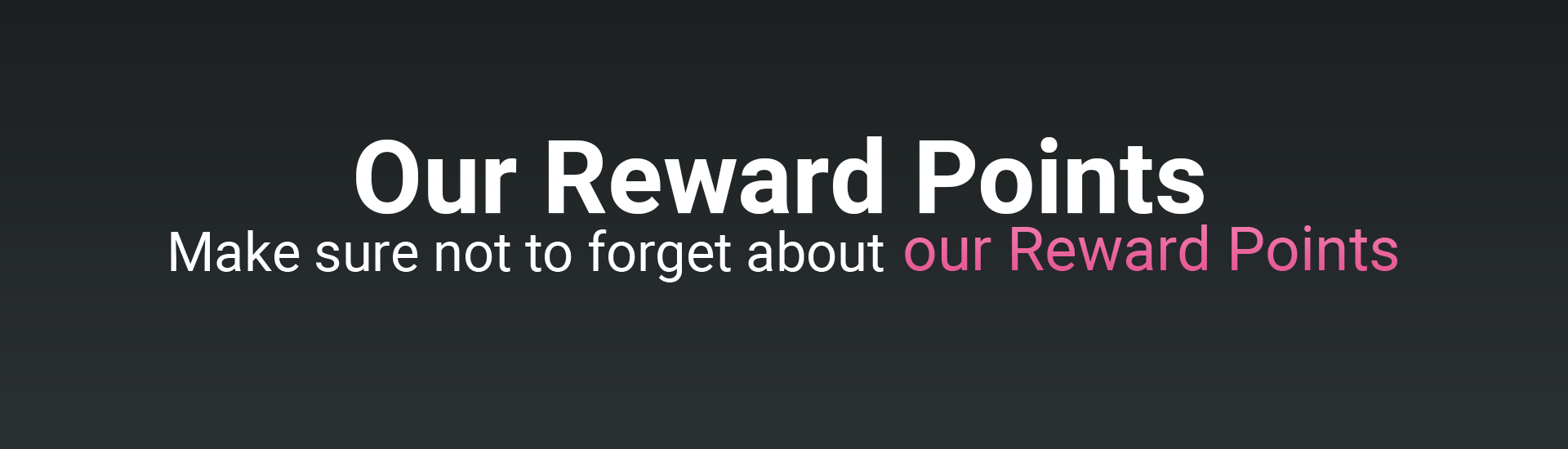 Reward Points for Love Afro Cosmetics